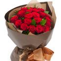 빨강 장미 꽃다발