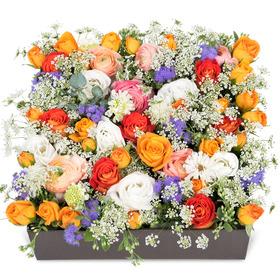 봄을 담은 플라워 박스